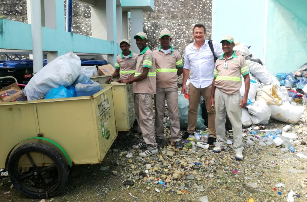 saint domingue pollution plastique collecteurs
