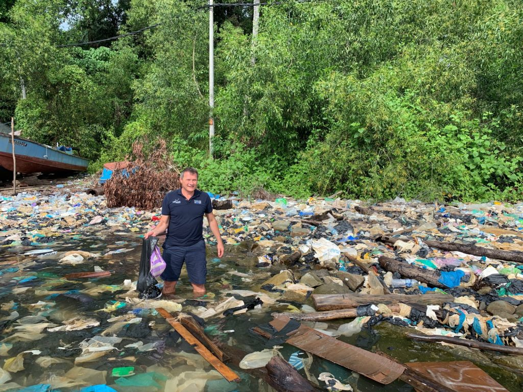 kota kinabalu race for water plastic pollution