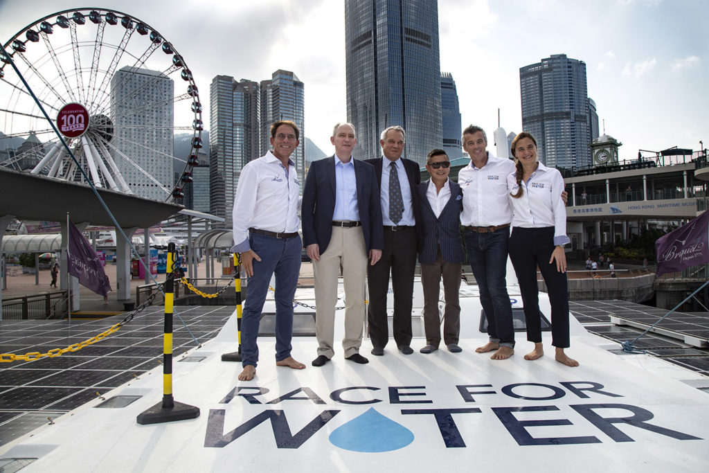 hong kong race for water vessel
