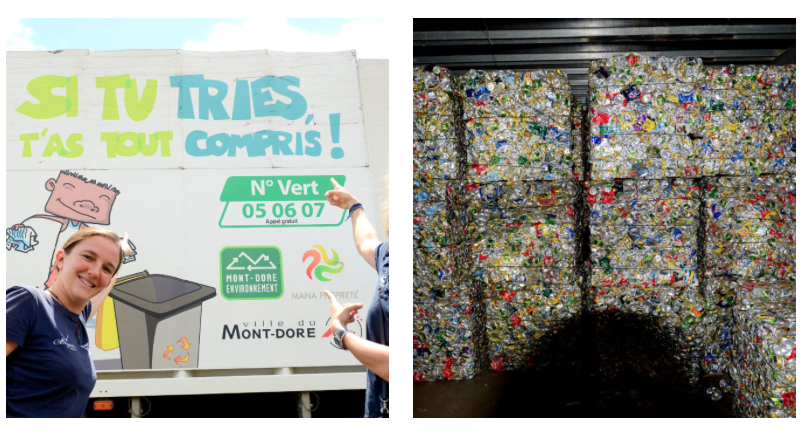 nouvelle calédonie déchets recyclage tri race for water